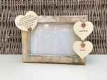 Shabby personalised Chic Photo Frame Special Best Friend Friendship Any Name - 253965273360
